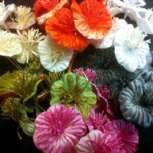 Vintage Velvet Flowers